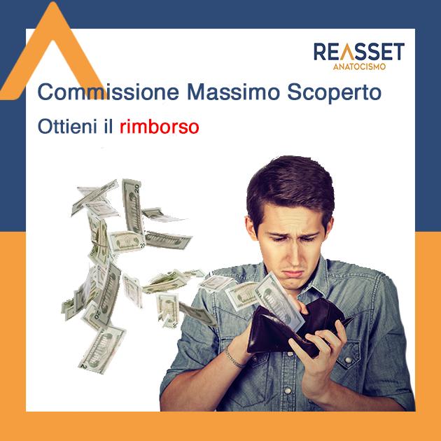 Commissione Massimo scoperto CMS come ottenere il rimborso